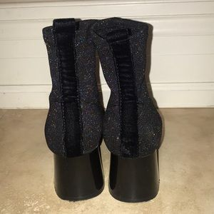 (2 for $30) Zara sparkly ankle boots